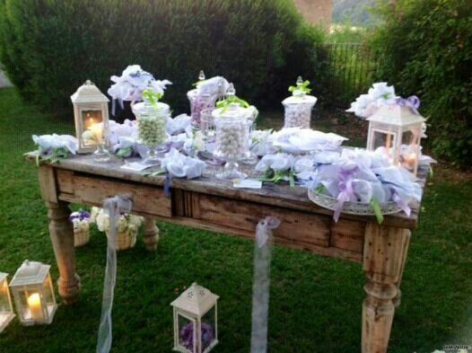 Confetti lilla
