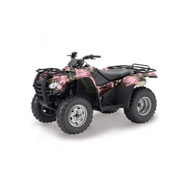 Mossy Oak Camo ATV Wrap ❤ liked on Polyvore featuring other, accessories, atv, cars and four wheelers