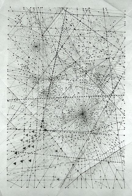 moonbeam + starshine - emma mcnally  simple lines with symbols along them