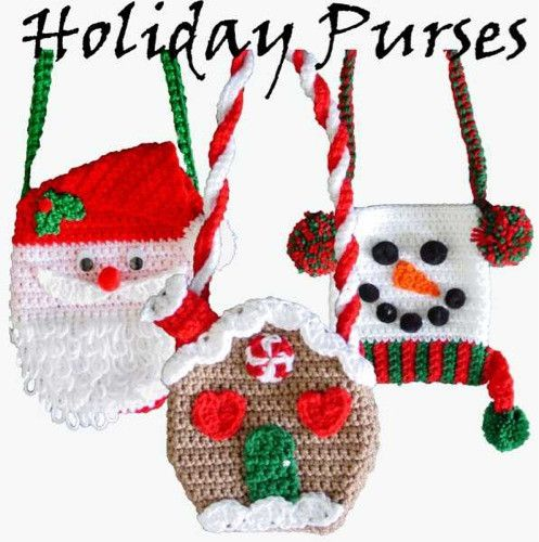 Holiday Purse Set 1 Crochet Pattern