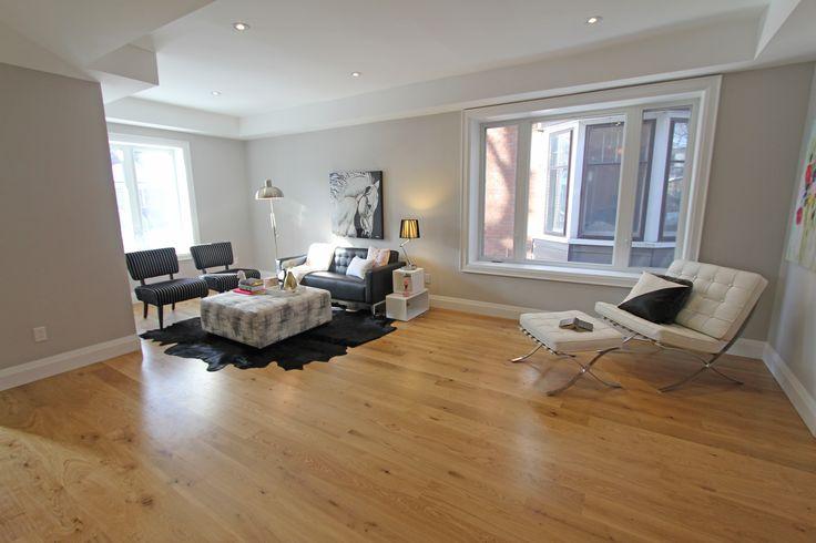 For sale, 563 St Clarens Ave, Toronto, real estate, Bloordale Village, 3 bedroom, 4 bathroom, home, cedar, brick, living area