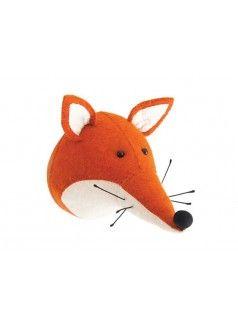 (By FIONA WALKER) Fox Head Wall Decor: aus Filz selbermachen