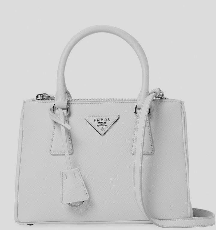 d061ca2fbf31 Prada Women's Galleria Double Zip Small Saffiano Leather Tote vintage leather  handbags leather handbags and purses #women'sleatherhandbags #Pradahandbags