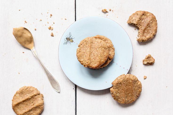 Hunajaiset maapähkinävoikeksit