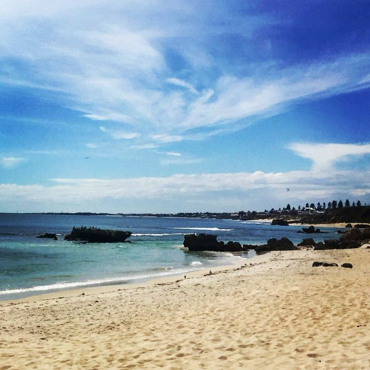Trigg beach - a popular beach for surfers. There is a nice playground and picnic area here.