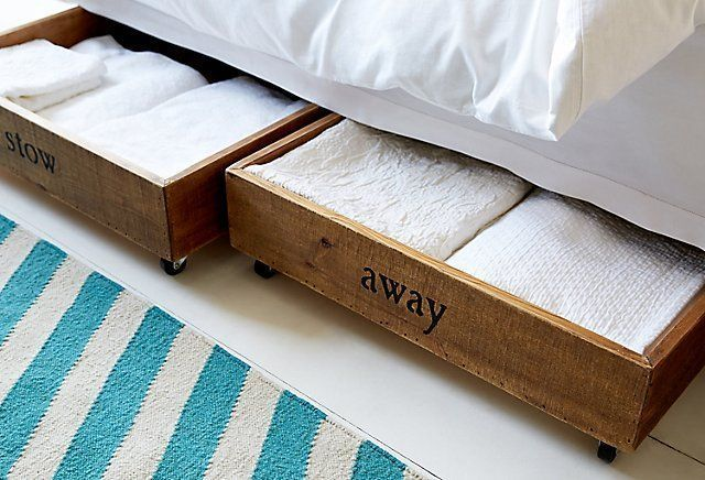 17 Most Creative Ideas To Make Stylish Diy Underbed Storage