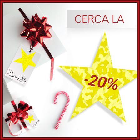 #Chrismats #Gift: Solo per questo #weekend -20% su tutte le #scarpe con la #stella e -10% alla cassa su tutte le altre.  CARPE DIEM… Corri a cercare la stella nel negozio #Danielle più vicino a casa tua!
