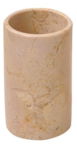 Toothbrush holder tumbler cup for bathroom accessories vanity countertops  Beige marble *** Want additional info? Click on the image.