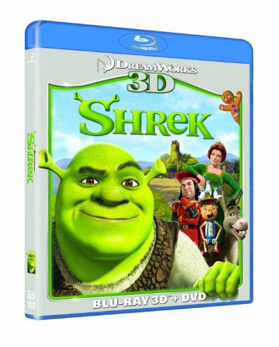 Shrek 3D [Blu-ray 3D  Blu ray] [2001] @ niftywarehouse.com #NiftyWarehouse #Shrek #Movies #Movie
