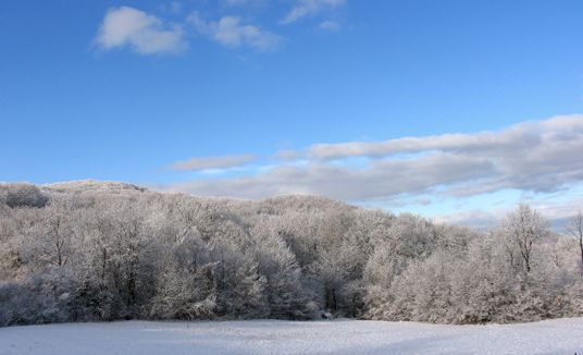 inverno a Ferriere in alta val Nure