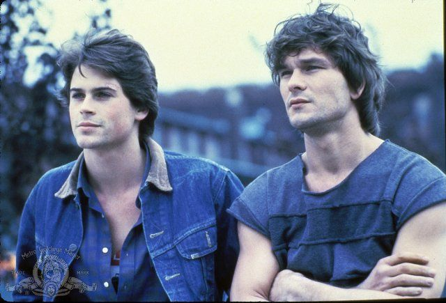 Still of Rob Lowe and Patrick Swayze in Youngblood