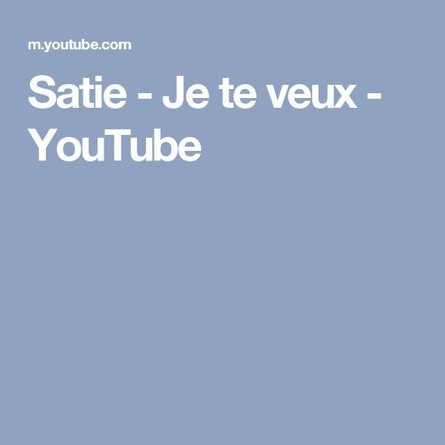 Satie - Je te veux - YouTube
