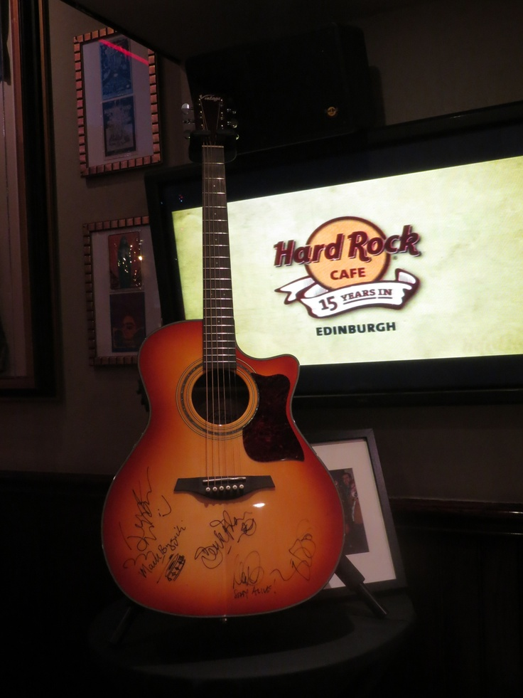 Silent Auction! Big Country Signed Guitar!