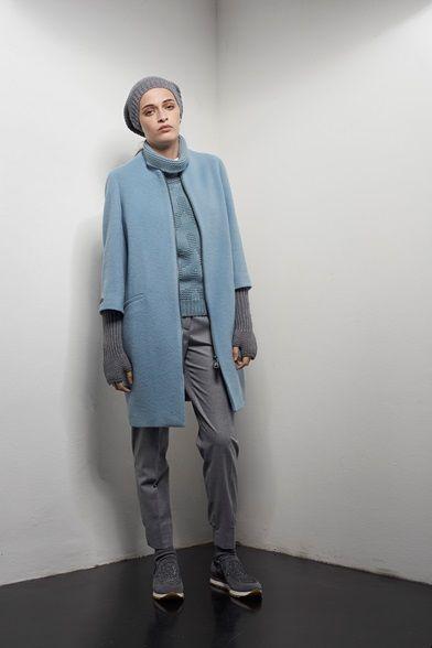 Sfilata Peserico Milano - Collezioni Autunno Inverno 2016-17 - Vogue