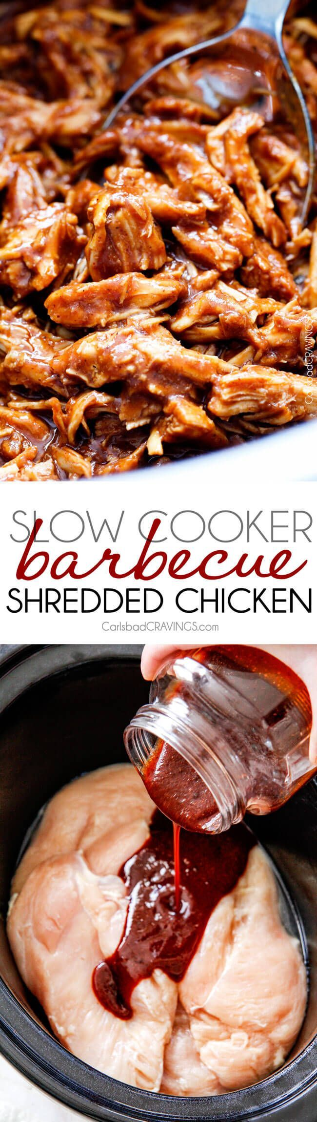 how to make barbecue chicken in a crock pot