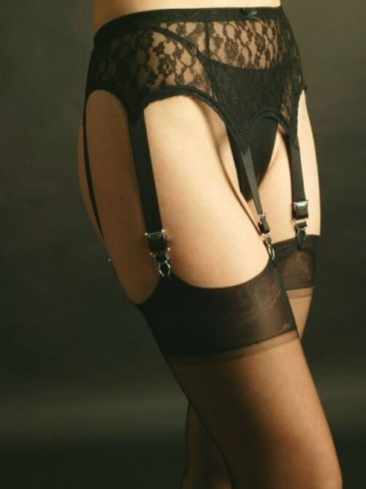 Premier Lingerie 6 Strap Suspender / Garter Belt in All Lace ( SSL55 ). Available in Black,White, & Red.