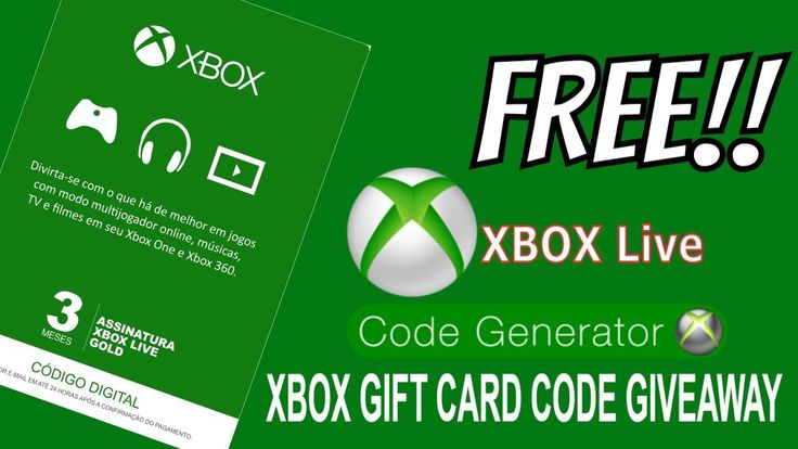 *New xbox codes *HOW TO GET FREE XBOX LIVE GOLD CODES 2018