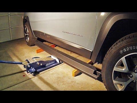 2014 Jeep Cherokee Trailhawk (KL): Rock Rail Installation - YouTube