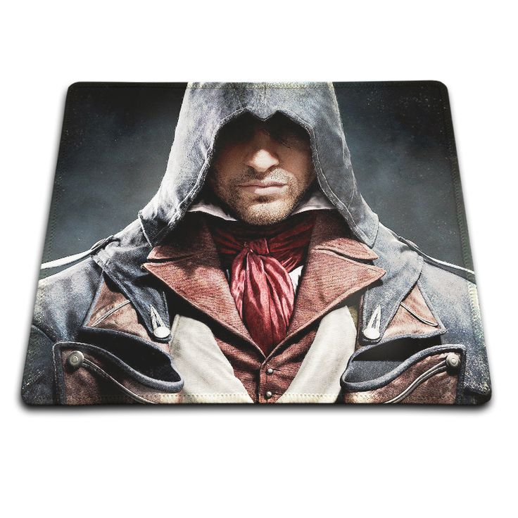 Best Sales Customized Mouse Pad Assassin's Creed Unity Iron Man Artwork Computer Notebook Rectangle Rubber Anti-slip Mouse Mat