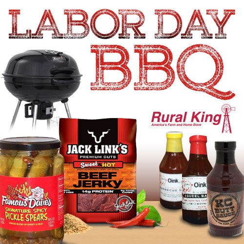 #ruralking #barbecue #laborday #grilling #outdoors #cookout - Visit your nearest Rural King store or check us out at www.ruralking.com.