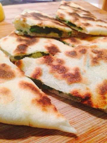 Spinach and Ricotta Gozleme I Made by me