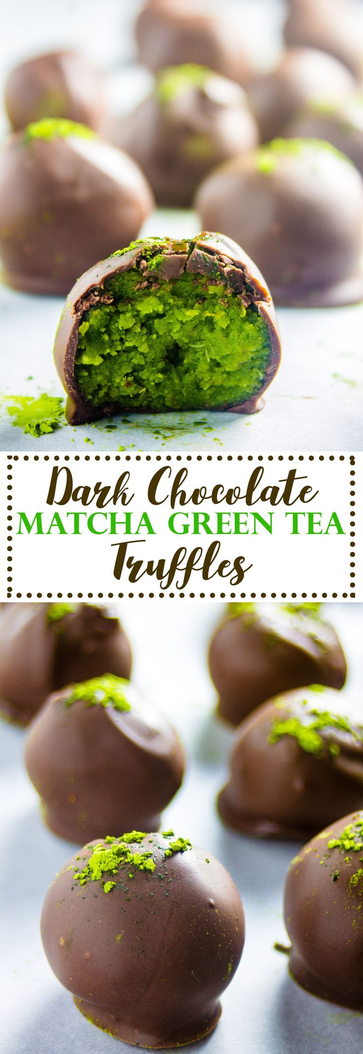 So, yes, by now you may know that I have a matcha obsession. It's pretty clear if you look at some of my other recipes –Matcha Overnight Oats & Mint Matcha Smoothie). Matcha is just too damn delicious to not put it in basically everything- your smoothies, your baked goods, and yes, your truffles. Matcha …