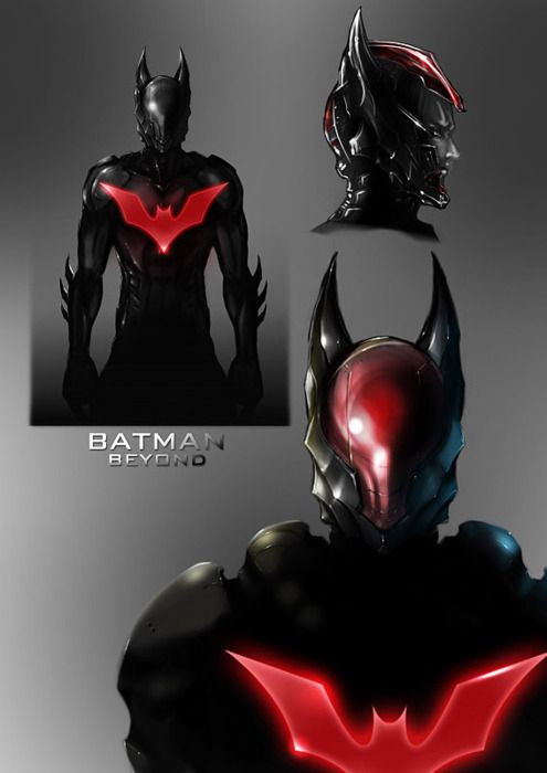 Redesign..!    Wow this makes the original Batman beyond design look like a clown outfit..!