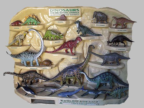 British Museum Of Natural History Dinosaur Models