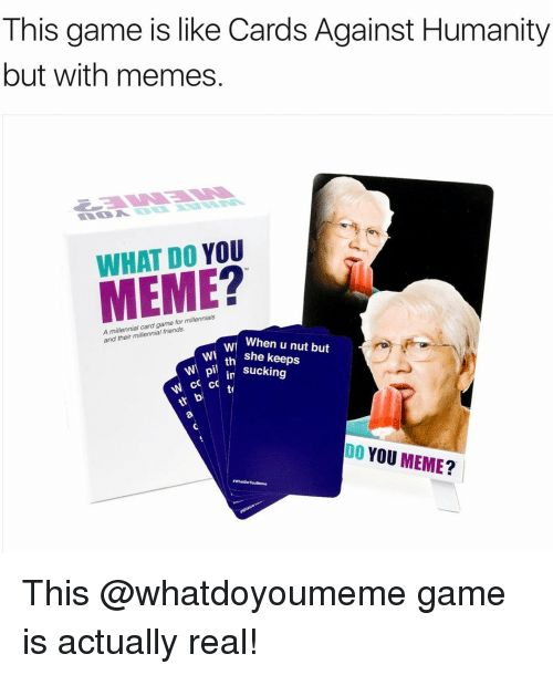 8e38677924999a00cfaf877b5afd76a7 meme twitter 17 best what do you meme images on pinterest card games, letter
