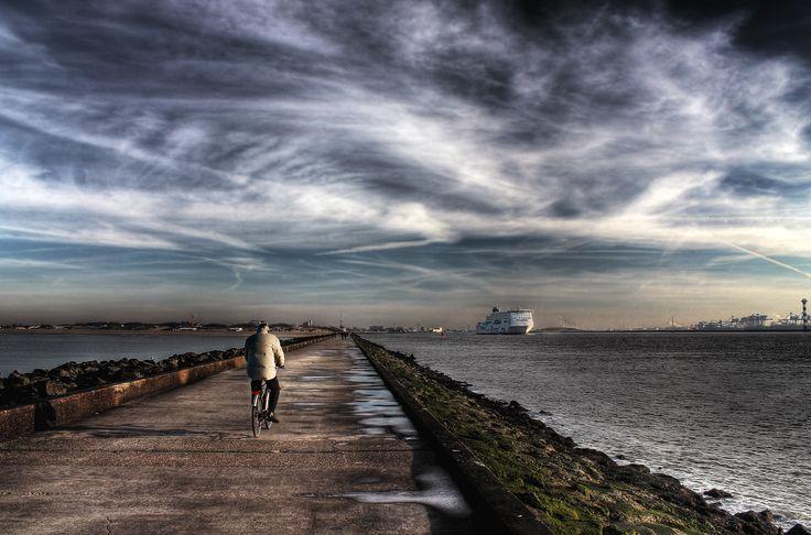 De pier, Hoek van Holland