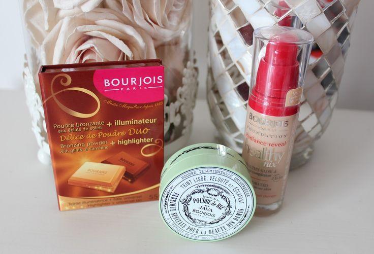 Bourjois, Bourjois Java Rice Powder, Bourjois Delice de Poudre Bronzer and Highlighter, Bourjois Healthy Mix Foundation Light Vanilla 51,