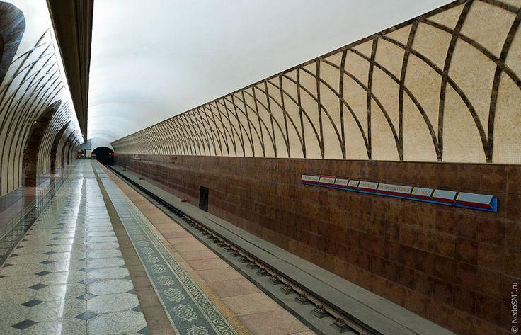 Subway station in Kazakhstan