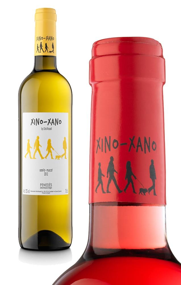 xinoxano de Oriol Rossell en www.prettywines.com. Etiqueta de vino divertida y original ¿no os parece?