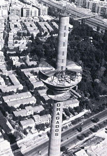 Construcción de Torre España, Febrero de 1981, Marzo de 1982.
