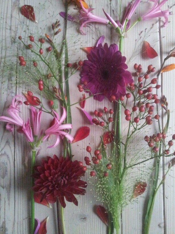 bloemig op tafel