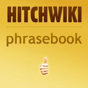 Hitchwiki phrasebook app