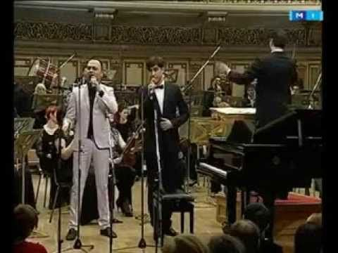 "I ask only one kiss (O sărutare voi să-ţi cer).  The Symphony Orchestra of ""Teleradio-Moldova"" State Company. Dumitru Carciumaru - Conductor. Performs a Duet of ""Akkord"".   Lyric by Veronica  Micle."