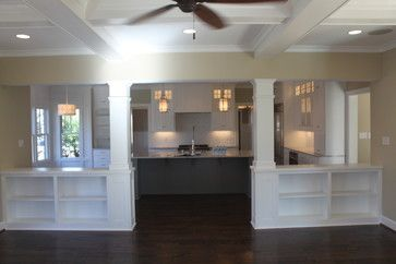 Half Wall With Column Design Ideas, Pictures, Remodel, and Decor - page 6