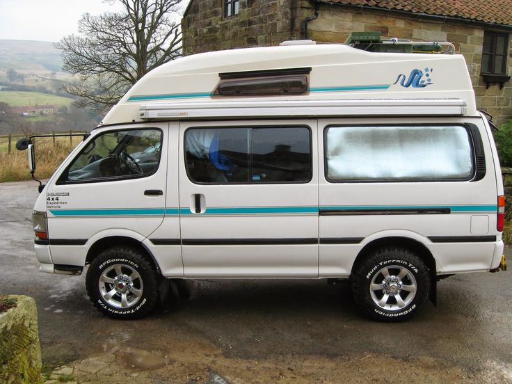 Hiace Hobo - Living in a Toyota Camper Van: 2014 plans | Robs 4WD Hiace Camper…