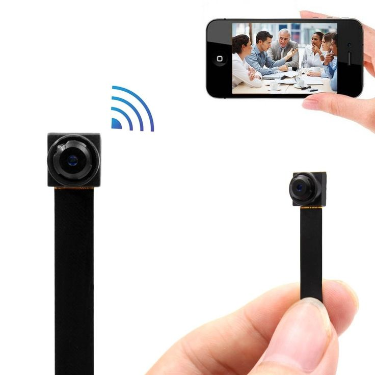 Amazon.com : Mini Wireless WIFI Spy Hidden Camera, PANNOVO HD 720P WIFI IP P2P Camera Motion Detection Wireless Video recorder Support 128GB SD (Not include) : http://amzn.to/2eIvMm9