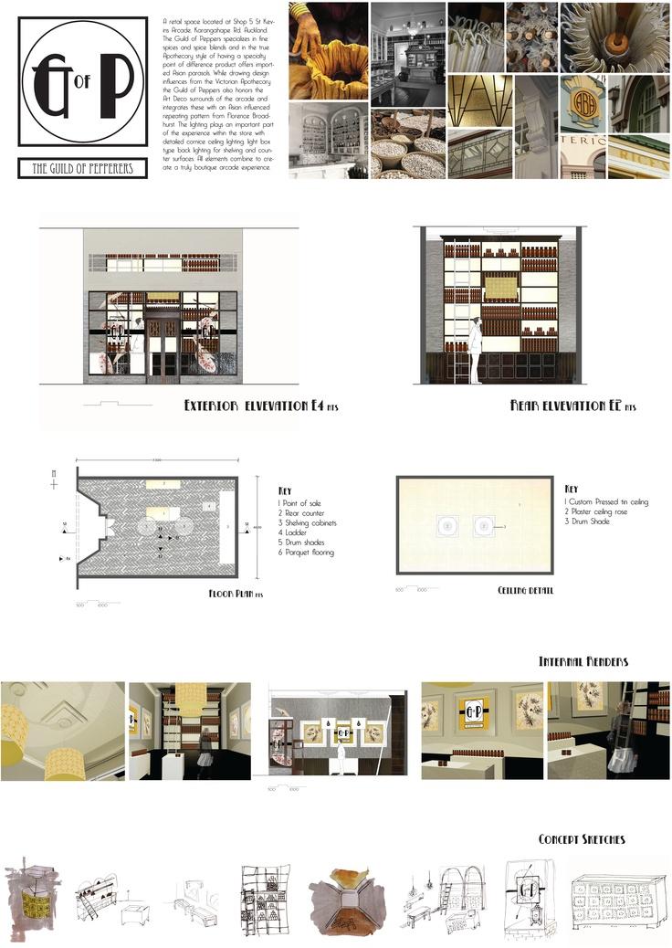 Second Year Retail Design