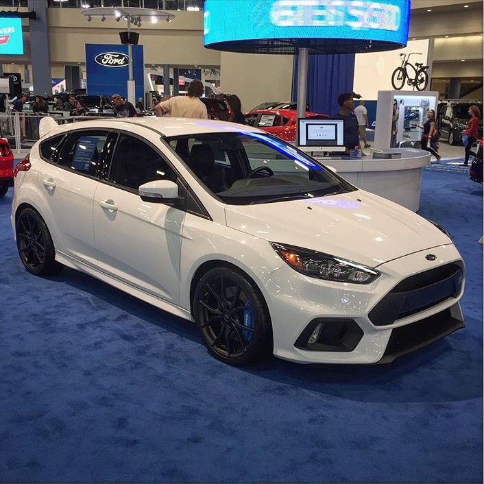 Ford Fusion Black Rims >> 2016 Ford Focus RS white | Ford | Pinterest | Cars, Ford ...