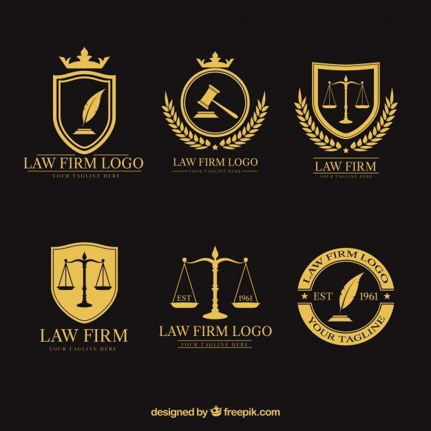 Download Law Logotype Set For Free Logotipo Advocacia Cartao De