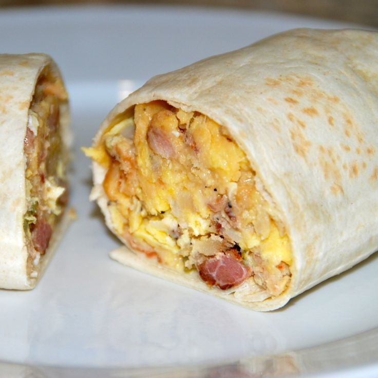 Whole Foods Bacon Egg Burrito