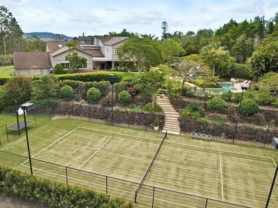 Yes, I will have a backyard tennis court...grass of course