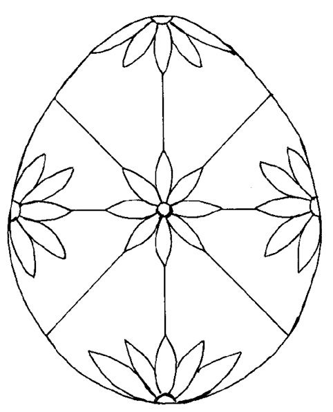 Coloriage Oeufs Paques Pictures