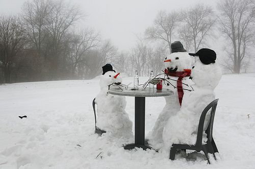There's snow time like family time!!