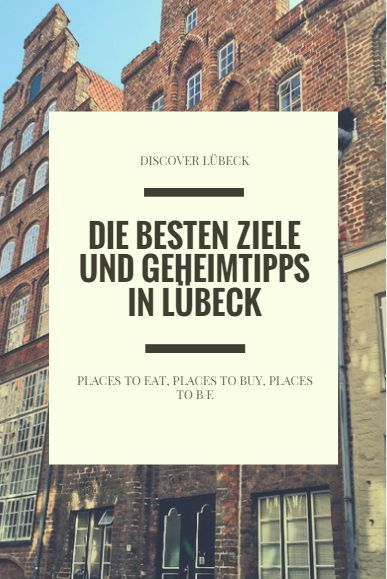 Lübeck ist eine der schönsten Städte nicht nur im Norden, sondern in ganz Deutschland! Hier sind einige Ziele und Geheimtipps der wunderschönen Hansestadt!