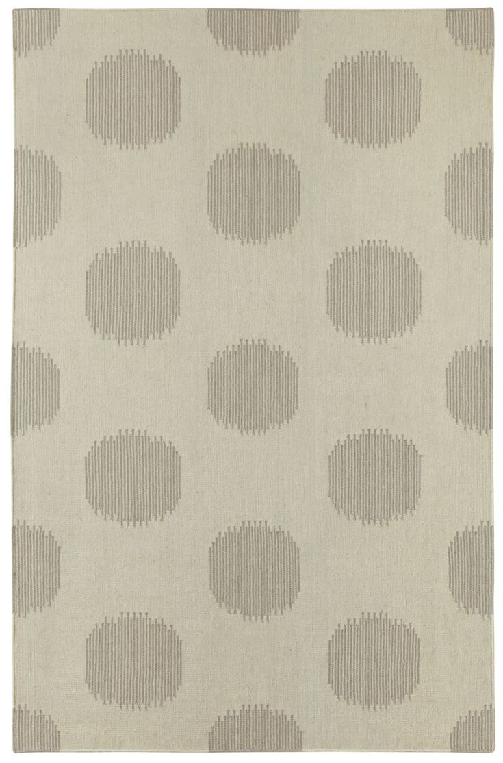 Ny Dot Rug In Oslo Gray  By Genevieve Gorder For Capel Rugs, America's Rug
