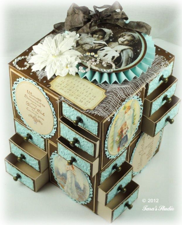 Taras Studio - Advent Calendar Pazzles Desafío 12 2012 16 img